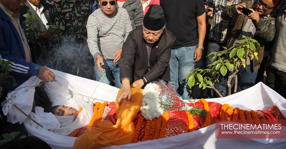 Late Alok Nembang's final tribute