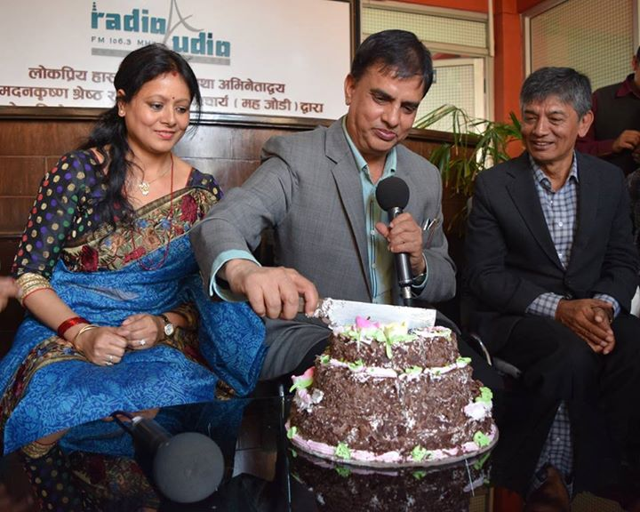 Comedy actor hari Bansha Acharya celebrates his birthday- thecinematimes.com