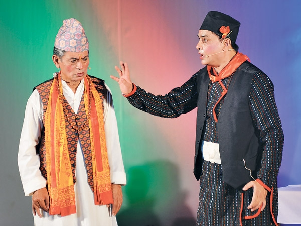 Hari Bansha Acharya comedy actor- thecinematimes.com